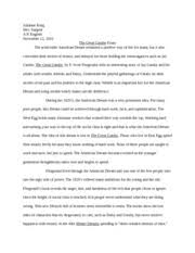 the grapes of wrath essay king julianne king ap english lit 2 pages the great gatsby essay