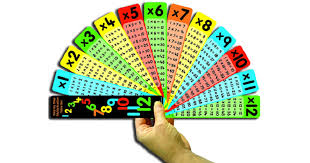 Multiplication Tables Fan | The Dyslexia Shop