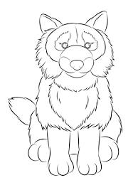 Webkinz Hond Kleurplaat Gratis Kleurplaten Printen