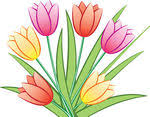 Image result for tulips clipart