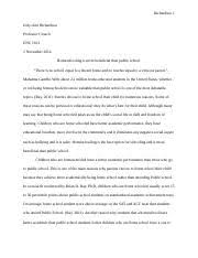 enc composition fsw page course hero 2 pages homeschooling essay 1 docx