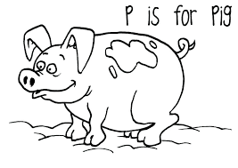 Peppa Pig Coloring Pages Birthday Guinea Sheet Page Col Cute