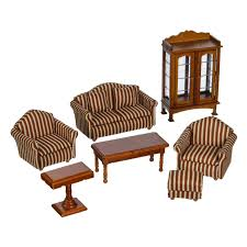 dollhouse furniture cheap. Dollhouse Furniture Living Room Set 1:12 Scale Wooden | Radar Toys \u2013 Cheap