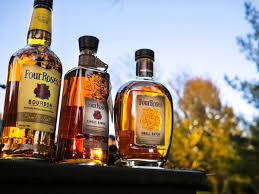 Four Roses Premium American Light Whiskey Four Roses Bourbon Whiskey Liquor Review