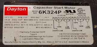 115 volt motor wiring diagram 115 home wiring diagrams dayton electric motor wiring diagram