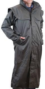sherwood ragley mens waterproof long trench rain coat