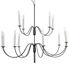 image 1 large 12 armed hanging candlesticks chandelier with long curved arms appears quite simple and filigree large candlestick
