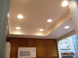 ceiling design with led lights kitchen ideas home