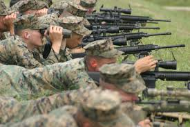 Marines Scout Sniper Requirements File Marines Of Scout Sniper Platoon Shoot The Mk 11 Rifle