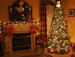 The stockings are hung by the chimney with care, in hopes that Saint  Nicholas soon will be there!