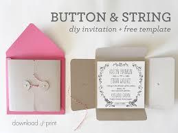 Pocket Template Diy Square Wedding Invitation Pocket Free Template