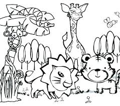 African Animals Colouring Jumppartyorg
