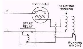 single phase hermetic motors schematic wiring diagram of a split phase motor circuit