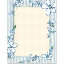 How To Decorate A Chart Paper Border 9 Chart Paper Border Design Images Printable Paper Border