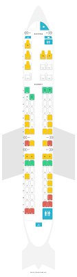 Crj900 Aircraft Seating Chart Seat Map Bombardier Crj705 Air Canada Find The Best Seats