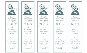 Bookmark Template Word Bookmark Template Bookmark Template For Word