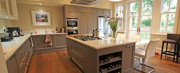 country kitchens. Beige Grey Country Kitchen With Island Kitchens