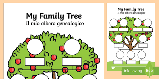 my family tree template my family tree english italian my family tree worksheets