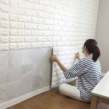 Small Picture Peel Stick Wallpaper Brick Design DIY Home Decor Pinterest