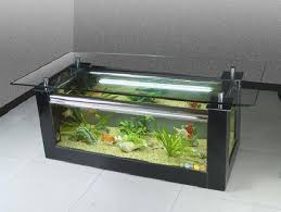 white rectangle modern glass aquarium coffee table plans ideas high