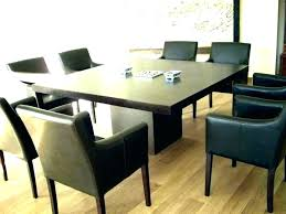 dining tables square oak dining table attractive dark within marvelous room with 8 chairs pictures