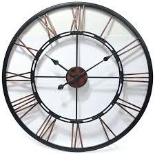 infinity instruments wall clock metal fusion by infinity instruments large metal clock with a welded open infinity instruments wall clock