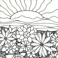 Waterfall Coloring Page Elegant Sunset Coloring Pages Waterfall 7