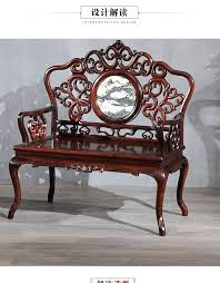 mingdy stl solid wood palace chair old