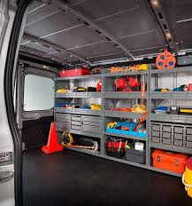 2018 ford work van. fine 2018 transit van interior with upfitted shelving intended 2018 ford work van