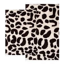 entrancing bathroom decoration with leopard print bath rug extraordinary accessories for bathroom design and decoration