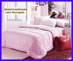 Best 25+ Pink bedspread ideas on Pinterest | White and pink ... & 220*240cm 100% Wool Winter Blanket Plus Size Quilt Pink colcha Double Quilted  Comforter Adamdwight.com