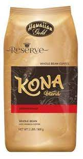 Gourmet coffee isn't a particular type of coffee, but refers to any type or blend known to have superior flavor characteristics. Amazon Com Hawaiian Gold Kona Medium Roast Gourmet Blend Whole Bean Coffee 2 Lbs Bag Pack Of 2 Grocery Gourmet Food