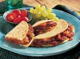 barbecued beef quesadillas