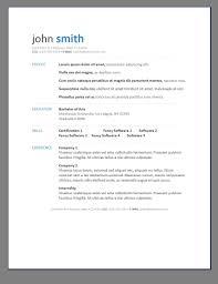 Contemporary Resume Format Sample Free Modern Resume Template Sample Resume Cover Letter Format Modern 1