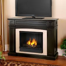 finest gas fireplace and tv stand