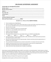 Newspaper Advertising Contract Template Advertising Contract Template 11 Word Pdf Google Docs