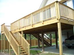 home design attractive elevated deck plans and ideas determine the details to from elevated deck