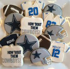 Image result for football sugar cookies