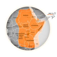 C Ku Band Satellite Chart Nss12 Internet By Satellite In Africa