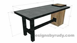 top office desks. Concrete Top Desk Serving Table By Designs Dimensions Office . Desks