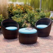 interesting wicker chair cushions for inspiring outdoor furniture design ideas