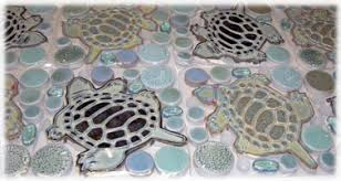 6X6 Decorative Ceramic Tile Decorative ceramic tile hand made tiles in fish tiles frog tiles 83