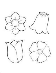 Small Picture Flower coloring pages A single flower Free printable Flowers