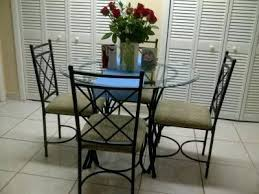 5 piece glass dining set mainstays 5 piece top metal dining set room ideas
