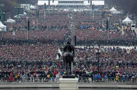 trump inauguration crowd size fox how many people watched trumps inauguration vs obamas heavy com