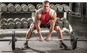 the sumo deadlift variation helps to reduce the stress placed on the lower back at the starting position