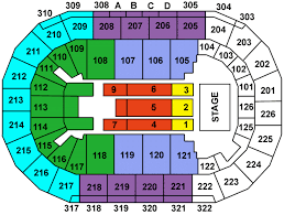 Mandalay Event Center Seating Chart Mandalay Bay Events Center Las Vegas My Les Paul Forum