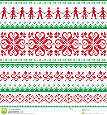 christmas sweater print background. Christmas Pattern Print For Sweater Background