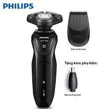 Máy cạo râu Philips AT620 Đầu bịt Aquatec đảm bảo cạo râu ướt sảng khoái và  an toàn Lưới cắt CloseCut lướt nhẹ nhàng để cắt sát êm ái. Bảo hành 2