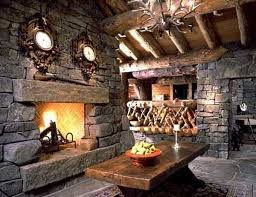 ... New Ideas Rustic Stone Fireplace Rustic Stone Fireplace Home Where The  Hearth ...